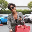 Kris Jenner et Bruce Jenner (tout juste séparés) arrivent dans des voitures différentes pour se rendre à une réunion à Woodland Hills, le 9 octobre 2013.