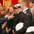 Le prince Philip lors de la remise des Prix duc d'Edimbourg (DofE Awards) au palais St James, à Londres, le 10 octobre 2013.