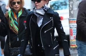 Madonna en famille : Fatiguée et look en berne lors d'une virée spirituelle