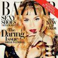 """Madonna photographiée par Terry Richardson pour """"Harper's Bazaar"""" US, novembre 2013."""