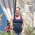 Exclusif - Pink en tenue de sport lors de ses vacances à Cabo San Lucas, le 2 octobre 2013.