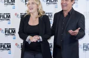 Kate Winslet, enceinte : Un sourire éclatant et de jolies courbes arrondies