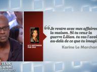 Karine Le Marchand, le SMS de menace à Lilian Thuram: 'La guerre tu vas l'avoir'