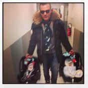 Jean-Roch : Un papa poule formidable avec ses adorables jumeaux Santo et Cielo