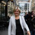 """Nadine Morano lors de la Réunion des amis de Nicolas Sarkozy au restaurant """"L'antre amis"""" à Paris, le 15 octobre 2013"""