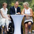 Nathalie Kosciusko-Morizet, Jean-Francois Copé et Nadine Morano à Nice, le 25 août 2012