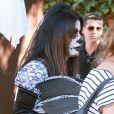 Sandra Bullock et son fils Louis (3 ans), deguisés, se rendent à une fête d'Halloween à Los Angeles, le 19 octobre.