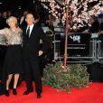 Emma Thompson et Tom Hanks lors de la présentation de Dans l'ombre de Mary (Saving Mr. Banks) pour la clôture du BFI London Film Festival le 20 octobre 2013