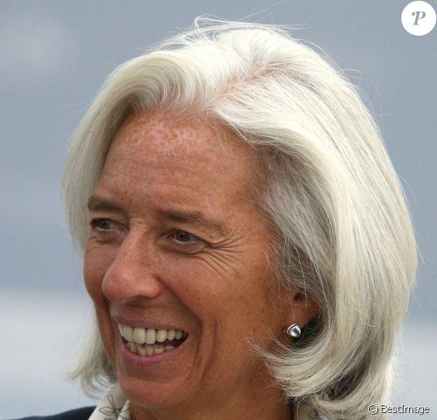 Christine Lagarde - Sommet du G20 à Saint-Pétersbourg en Russie le 6 septembre 2013.