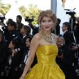 Gulnara Karimova, à la montée des marches du film Killing theam softly, lors du 65e Festival de Cannes, le 22 mai 2012.