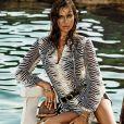 Irina Shayk, visage de la collection Roberto Cavalli para C&A élaborée par Roberto Cavalli pour C&A Brésil.