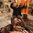 Roberto Cavalli lance Roberto Cavalli para C&A, sa collection de vêtements pour C&A Brésil, au centre commercial Iguatemi à Sao Paulo. Le 23 octobre 2013.