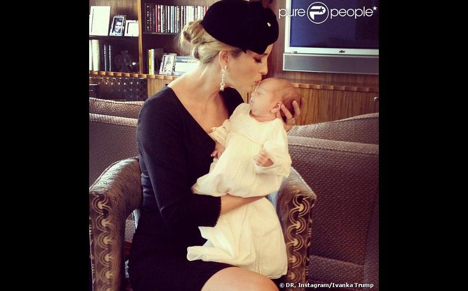 Ivanka Trump a partagé une série de clichés sur son compte Instagram de son fils Joseph, né le 14 octobre 2013.