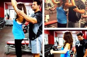 Danielle Jonas, enceinte : Sport en salle et baby bump pour la femme de Kevin