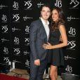 """Kevin Jonas et Danielle Jonas à la fête d'anniversaire de Nick au """"XS Nightclub at Encore Las Vegas"""", le 15 septembre 2013."""