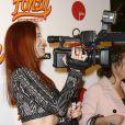 """Audrey Fleurot lors de l'avant-première du film """"Fonzy"""" au Gaumont Opéra à Paris, le 25 octobre 2013."""