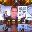 Daphné Bürki et Jean-Marc Généreux sur le plateau du Tube, sur Canal+, le samedi 26 octobre 2013.
