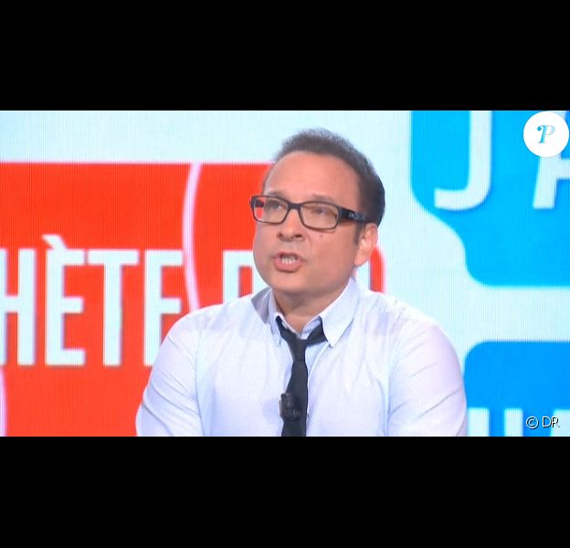 Jean-Marc Généreux sur le plateau du Tube, sur Canal+, le samedi 26 octobre 2013.
