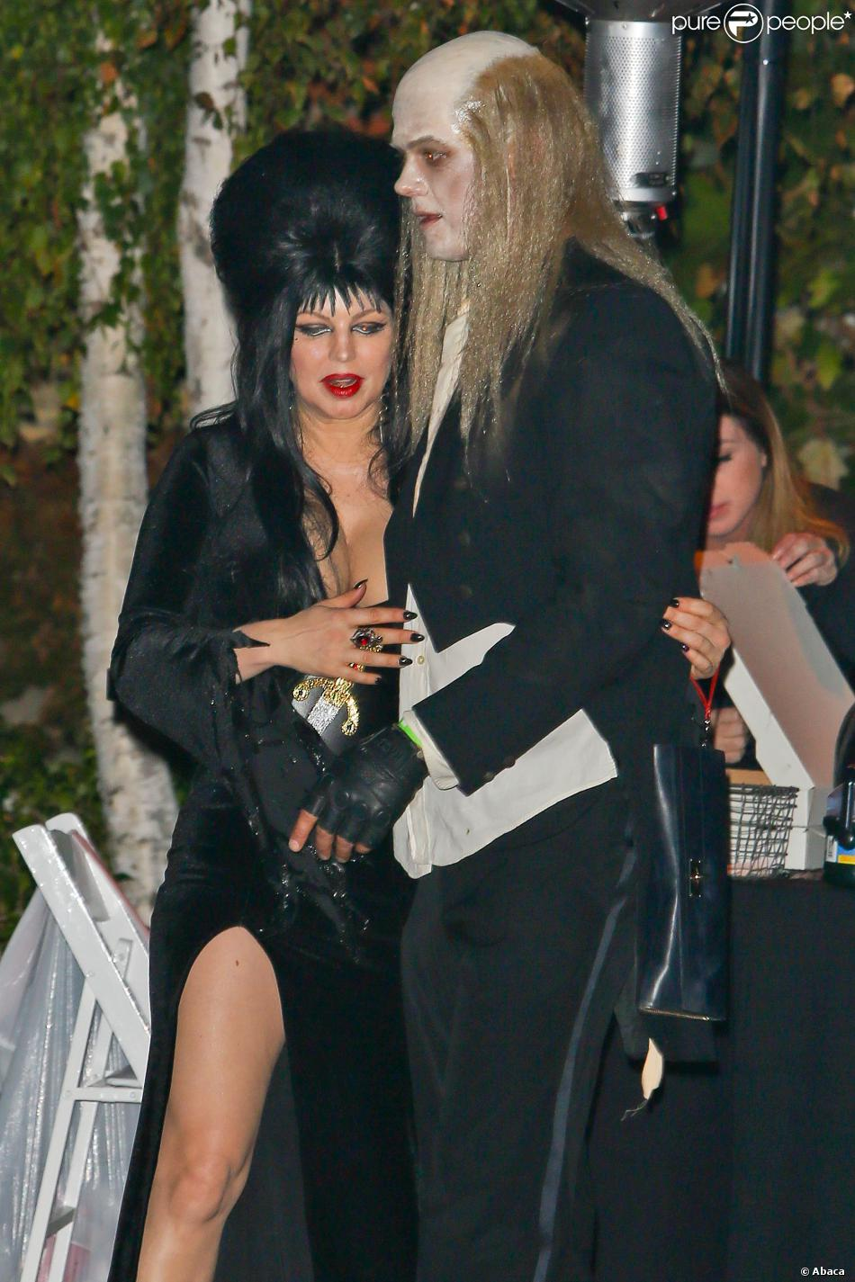 Fergie et Josh Duhamel à la soirée de Kate Hudson pour Halloween le 26 octobre à Brentwood.