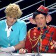 """""""Charles et Diana"""", le sketch d'Antoine de Caunes et José Garcia dans """"Nulle Part Ailleurs"""" sur Canal+"""