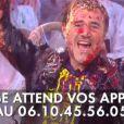 """Les retrouvailles déjantées d'Antoine de Caunes et José Garcia durant le """"Grand Journal"""" le 24 octobre 2013."""