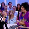 """Les retrouvailles déjantées d'Antoine de Caunes et José Garcia au """"Grand Journal"""" le 24 octobre 2013."""