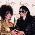 Elizabeth Taylor et Michael Jackson à Los Angeles, le 22 mars 2003.