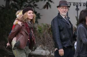 Steven Spielberg : Halloween avec Kate Capshaw, et un nouveau projet en route