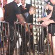 Justin Bieber se rend au Zax Club à Rio de Janeiro, au Brésil, le 2 novembre 2013.
