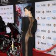 """Jaimie Alexander à la première du film """"Thor : Le Monde des ténèbres"""" au cinéma El Capitan à Hollywood, le 4 novembre 2013."""