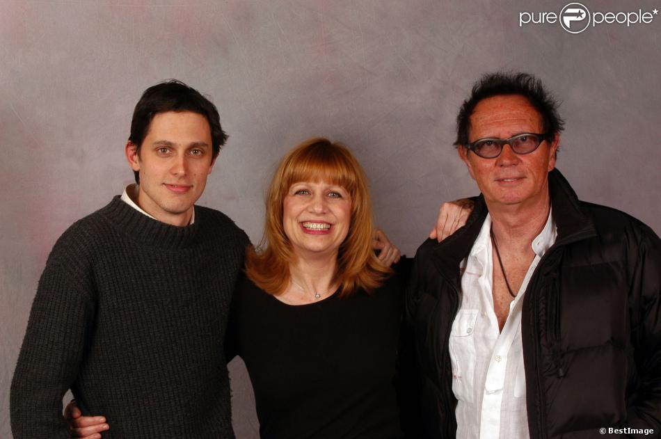 Stone, Eric Charden et leur fils Baptiste