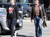 Arnold Schwarzenegger : Papa radieux, sa fille le rattrape presque !