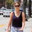 Jennifer Lawrence au naturel à Santa Monica le 20 juin 2012.