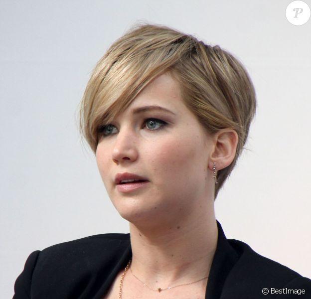 Jennifer Lawrence à Sunnyvale, le 6 novembre 2013.