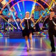 Abbey Clancy et ses longues jambes dansent sur Can't buy me love avec Aljaz Skorjanec dans l'émission Stricly come dancing du 12 octobre 2013