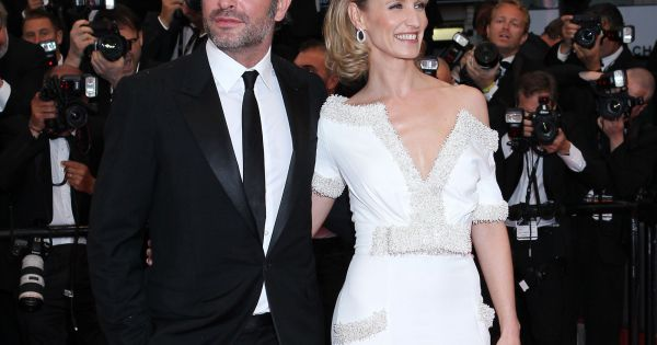 Jean dujardin et alexandra lamy cannes le 27 mai 2012 for Theatre jean dujardin