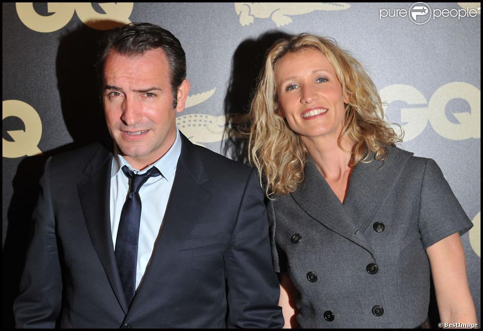 Jean dujardin et alexandra lamy paris le 18 janvier 2011 for Theatre jean dujardin