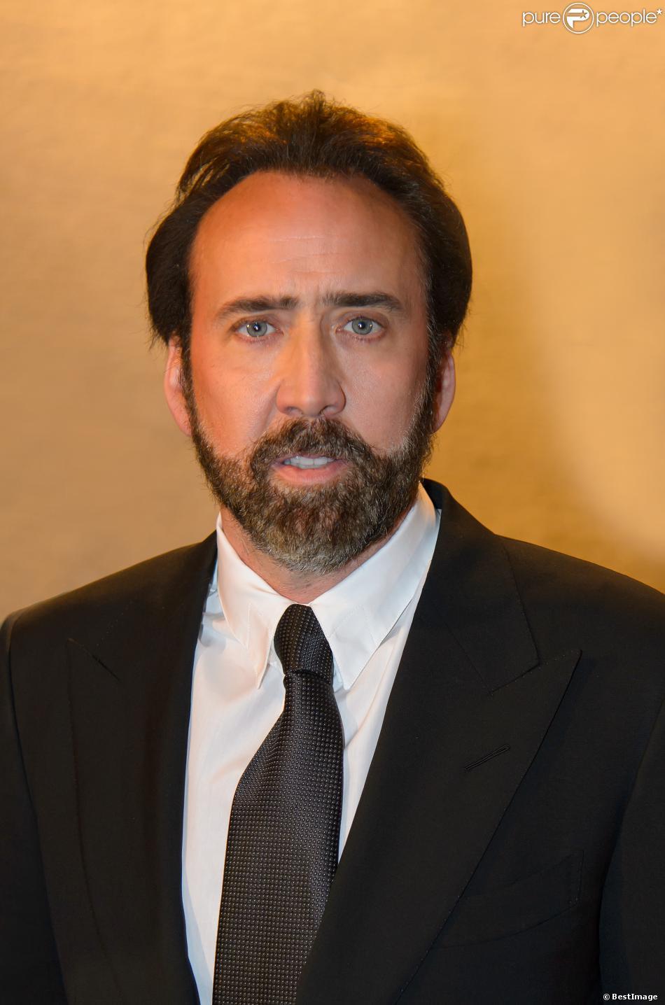L'acteur américain Nicolas Cage, l'ambassadeur de bonne volonté de l'ONUDC (Office des Nations unies contre la drogue et le crime) assiste a une reception de l'ONUDC à Vienne le 5 Novembre 2013