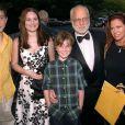 Richard Dreyfuss avec sa femme et ses enfants le 26 juin 2000