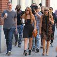 Lindsay Lohan, tout juste sortie de cure de désintoxication, en tournage de sa télé-réalité à New York, le 5 août 2013.