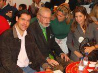 Louis et Margarita de Bourbon : Solidaires, avec leurs trois enfants et Leandro