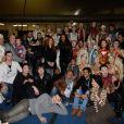 Soirée One Drop Party pour le 'Cirque du Soleil' à Boulogne-Billancourt, le 28 novembre 2013.