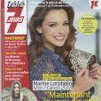 Marine Lorphelin en couverture de Télé 7 Jours, en kiosques le 2 décembre 2013