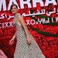 Marion Cotillard lors de la cérémonie d'ouverture du 13e Festival international du film de Marrakech, le 29 novembre 2013.