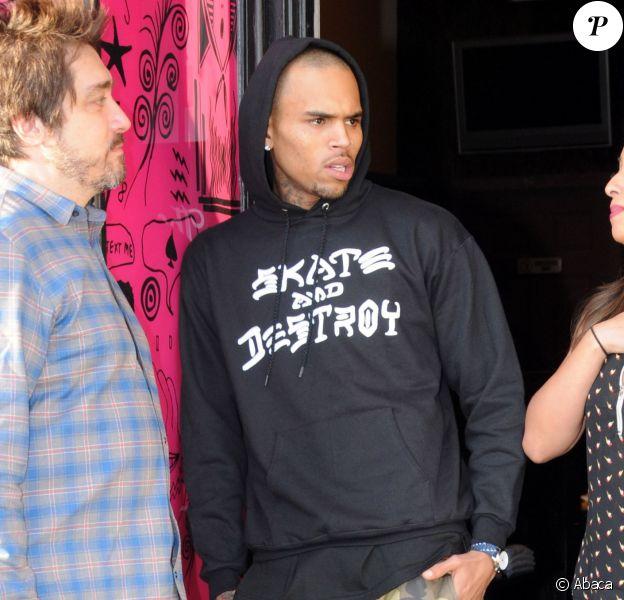 Chris Brown à Los Angeles, le 17 novembre 2013.