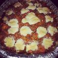 Pour Thanksgiving, Karrueche Tran a rendu visite à son chéri Chris Brown dans son centre de désintox et lui avait préparé un plat de patates douces.