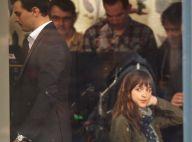 Fifty Shades of Grey en tournage : Dakota Johnson, superbe pour Jamie Dornan