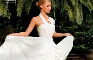 PHOTOS : Jessica Simpson, parfaite dans sa robe de mariée !
