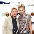 Ellen DeGeneres et Portia De Rossi à Beverly Hills le 13 octobre 2013