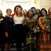 Valérie Trierweiler et les 1ères dames d'Afrique face à l'horreur de la guerre